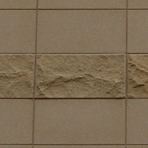 Photo of specific Arriscraft tile materials used in Carbon County Administration Building